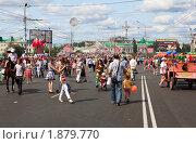 Купить «Празднование дня города. Омск», фото № 1879770, снято 1 августа 2010 г. (c) Юлия Машкова / Фотобанк Лори