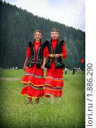 Купить «Татарские девушки в национальных костюмах», фото № 1886290, снято 13 июня 2009 г. (c) BGodunoff / Фотобанк Лори