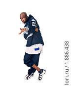 Купить «Портрет хип-хоп исполнителя», фото № 1886438, снято 31 июля 2008 г. (c) Никита Буйда / Фотобанк Лори