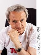 Портрет взрослого мужчины. Стоковое фото, фотограф Асадулина Юлия / Фотобанк Лори