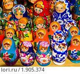 Купить «Матрешки», фото № 1905374, снято 6 июня 2010 г. (c) ИВА Афонская / Фотобанк Лори