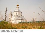 Купить «Женский монастырь в Санино, Суздаль», фото № 1912158, снято 24 июля 2010 г. (c) Ivan Bukarev / Фотобанк Лори