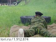Военные сборы. Стоковое фото, фотограф Юлия Дозорец / Фотобанк Лори