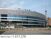 Купить «Ледовый дворец в Санкт-Петербурге», фото № 1917278, снято 15 августа 2010 г. (c) Корчагина Полина / Фотобанк Лори