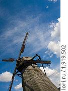 Ветряная мельница (2010 год). Редакционное фото, фотограф Katerina Uno / Фотобанк Лори