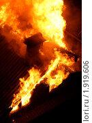 Купить «Ночной пожар», фото № 1919606, снято 11 сентября 2007 г. (c) Маргарита Герм / Фотобанк Лори