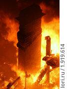 Купить «Печная труба сгоревшего дома», фото № 1919614, снято 11 сентября 2007 г. (c) Маргарита Герм / Фотобанк Лори