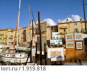 На набережной. Сан-Тропе. Франция (2009 год). Редакционное фото, фотограф Мария Закржевская / Фотобанк Лори