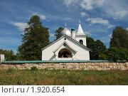 Купить «Троицкая церковь в деревне Бёхово, построенная в 1906 году  по проекту В.Д.Поленова», эксклюзивное фото № 1920654, снято 21 августа 2010 г. (c) lana1501 / Фотобанк Лори