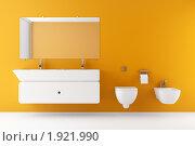 Купить «Интерьер туалета», фото № 1921990, снято 20 февраля 2019 г. (c) Максим Бондарчук / Фотобанк Лори