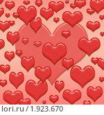 Сердца. Стоковая иллюстрация, иллюстратор Сергей Холодов / Фотобанк Лори