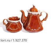 Купить «Чайный сервиз», фото № 1927370, снято 21 августа 2010 г. (c) Исаев Михаил / Фотобанк Лори