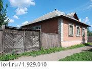 Купить «Углич. Старый  дом с деревянными воротами», эксклюзивное фото № 1929010, снято 14 августа 2010 г. (c) lana1501 / Фотобанк Лори