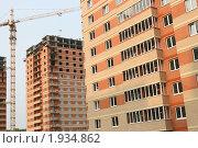 Новостройка в городе Челябинске (2009 год). Стоковое фото, фотограф Чуев Максим / Фотобанк Лори