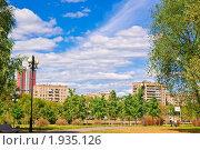 Купить «Облака над городом», эксклюзивное фото № 1935126, снято 21 августа 2010 г. (c) Алёшина Оксана / Фотобанк Лори
