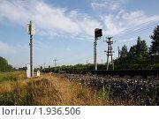 Железная дорога. Стоковое фото, фотограф Геннадий Окатов / Фотобанк Лори