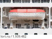 Купить «Спасательный бот лайнера Azamara Jorney», эксклюзивное фото № 1939482, снято 11 августа 2010 г. (c) Александр Щепин / Фотобанк Лори