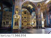 Купить «Внутренний вид Спасо-Преображенского собора  Валаамского мужского монастыря», фото № 1944914, снято 12 августа 2010 г. (c) Igor Lijashkov / Фотобанк Лори