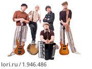 Купить «Музыкальная группа», фото № 1946486, снято 19 апреля 2009 г. (c) Никита Буйда / Фотобанк Лори