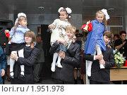 Купить «Балашиха, 1-е сентября 2010 год», эксклюзивное фото № 1951978, снято 1 сентября 2010 г. (c) Дмитрий Неумоин / Фотобанк Лори