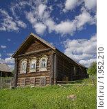 Старинный дом. Стоковое фото, фотограф Жаренов Александр / Фотобанк Лори