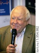 Купить «Михаил Любимов, писатель, публицист», фото № 1954982, снято 4 сентября 2010 г. (c) Владимир Ременец / Фотобанк Лори