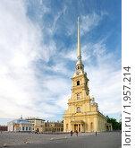 Купить «Петропавловский собор (Санкт-Петербург)», фото № 1957214, снято 22 мая 2010 г. (c) Дмитрий Яковлев / Фотобанк Лори