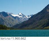 Купить «Алтай. Озеро Среднее Мультинское», фото № 1960662, снято 21 августа 2010 г. (c) Andrey M / Фотобанк Лори