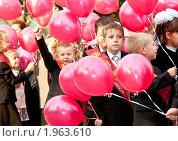 Школьники (2010 год). Редакционное фото, фотограф Михаил Снисаренко / Фотобанк Лори