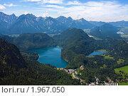 Баварский пейзаж. Стоковое фото, фотограф Михаил Лавренов / Фотобанк Лори