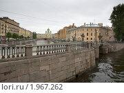 Набережная Санкт-Петербурга (2010 год). Стоковое фото, фотограф Елена Элевтерова / Фотобанк Лори