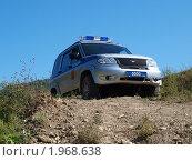 Патрульный автомобиль полиции (2010 год). Редакционное фото, фотограф Денис Шашкин / Фотобанк Лори