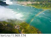 Купить «Радуга над Ниагарским водопадом», фото № 1969174, снято 20 августа 2009 г. (c) Тимофей Косачев / Фотобанк Лори