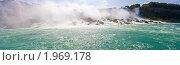 Купить «Ниагарский водопад, панорама», фото № 1969178, снято 20 августа 2009 г. (c) Тимофей Косачев / Фотобанк Лори