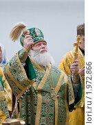 Купить «Митрополит Псковский и Великолукский Евсевий», фото № 1972866, снято 14 июня 2010 г. (c) Артем Костров / Фотобанк Лори