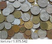 Россыпь монет. Стоковое фото, фотограф Горбарчук Андрей / Фотобанк Лори