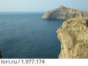 Крымское побережье в окрестностях г.Судак. Стоковое фото, фотограф ZitsArt / Фотобанк Лори