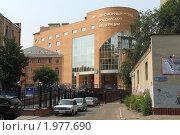 Купить «Здание пенсионного фонда в Воронеже», фото № 1977690, снято 9 августа 2010 г. (c) Петрова Ольга / Фотобанк Лори