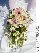Купить «Букет свадебный», фото № 1980502, снято 21 августа 2010 г. (c) Евгений Мареев / Фотобанк Лори