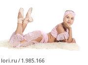 Девочка танцовщица в восточном костюме. Стоковое фото, фотограф Игорь Долгов / Фотобанк Лори