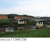 Купить «Мост в Смоленске», фото № 1994738, снято 6 июля 2010 г. (c) Артём Дудкин / Фотобанк Лори