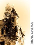 Руины замка в Муромцево (2009 год). Стоковое фото, фотограф Юлия Дозорец / Фотобанк Лори