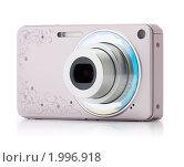 Купить «Розовая фотокамера», фото № 1996918, снято 24 сентября 2010 г. (c) Антон Балаж / Фотобанк Лори