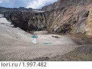 Вулканическое озеро. Стоковое фото, фотограф Андрей Михайлов / Фотобанк Лори