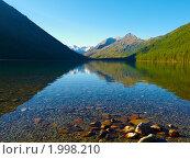 Купить «Алтай. Озеро Нижнее Мультинское», фото № 1998210, снято 21 августа 2010 г. (c) Andrey M / Фотобанк Лори