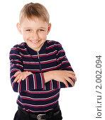 Купить «Мальчик», фото № 2002094, снято 19 мая 2009 г. (c) Ольга Сапегина / Фотобанк Лори