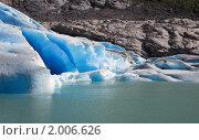 Ледник Бриксдал. Стоковое фото, фотограф Светлана Привезенцева / Фотобанк Лори