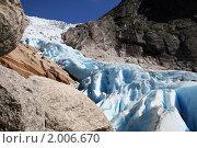 Купить «Ледник Бриксдал», фото № 2006670, снято 25 мая 2018 г. (c) Светлана Привезенцева / Фотобанк Лори