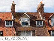 Оранжевые крыши (2010 год). Стоковое фото, фотограф Konstantin / Фотобанк Лори