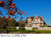 Купить «Домик в деревне», фото № 2008214, снято 25 сентября 2010 г. (c) Ольга Денисова / Фотобанк Лори